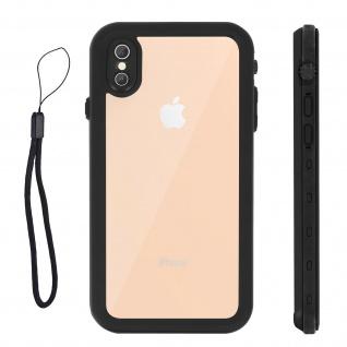 Redpepper Waterproof Handyhülle für Apple iPhone XS Max - Schwarz