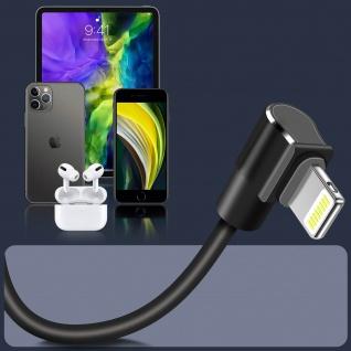 Hoco 1.2m Lightning Kabel mit USB-Stecker und Quick Charge Sync ? Schwarz - Vorschau 3