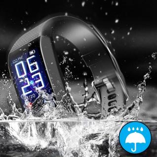 Lemonda C28 Smartwatch, IP67 Wassergeschützt, Aktivitätstracker - Schwarz