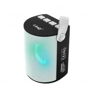 LinQ Bluetooth Wireless LED-Lautsprecher USB-Anschluss TF-Karte ? Weiß