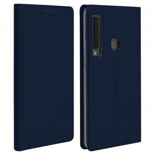 Klappetui mit Kartenfach & Standfunktion Samsung Galaxy A9 2018 Dunkelblau