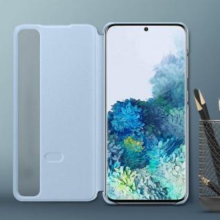 Original Samsung Clear View Cover, Klapphülle für Galaxy S20 Plus - Hellblau - Vorschau 4