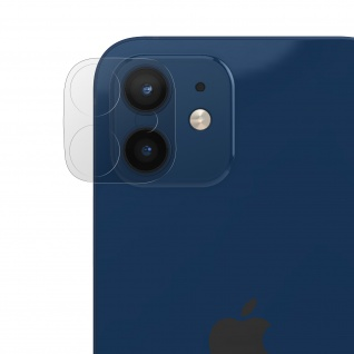 Rückkamera kratzfeste Schutzfolie Apple iPhone 12 ? Transparent