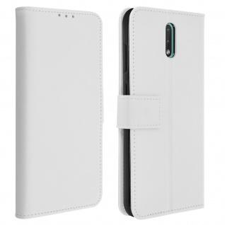 Nokia 2.3 Flip-Cover mit Kartenfächern & Standfunktion - Weiß