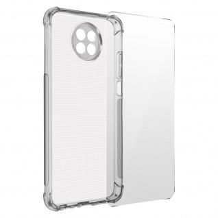 Premium Schutz-Set Xiaomi Redmi Note 9T 5G Schutzhülle + Folie ? Transparent