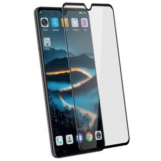Voll-Bildschirmschutz Rand Schwarz, Full Cover für Huawei Mate 20