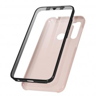 Schutzhülle für Xiaomi Redmi Note 8 / 8 2021, Vorder- + Rückseite ? Rosegold