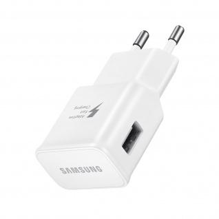 Original Samsung 15W Fast Charge USB-Ladegerät, Schnellladen â€? Weiß