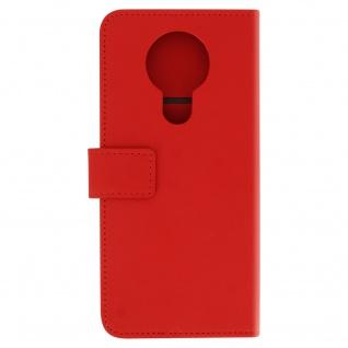 Nokia 3.4 Flip-Cover mit Kartenfächern & Standfunktion ? Rot