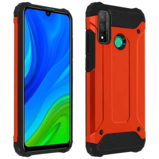 Defender II schockresistente Schutzhülle Huawei P smart 2020 - Rot