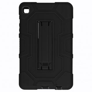 Stoßfeste Schutzhülle mit Ständer für Samsung Galaxy Tab A7 Lite ? Schwarz