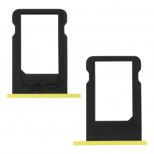 Nano-Sim-Ersatz-Kartenhalter für Apple iPhone 5C - Gelb - Vorschau 2