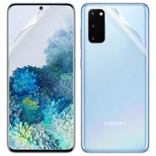 Schutzfolien-Set für Samsung Galaxy S20, weich und kratzfest - Transparent
