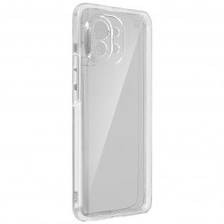 Schutzhülle für Xiaomi Mi 11, Vorder- + Rückseite ? Transparent