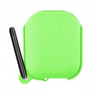 Apple AirPods (1. und 2. Generation) Silikonhülle, Ladecase Schutzhülle ? Grün