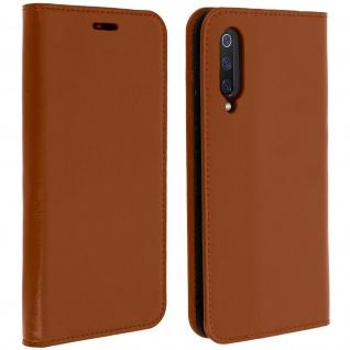Business Leder Cover, Schutzhülle mit Geldbörse für Xiaomi Mi 9 - Kupfer