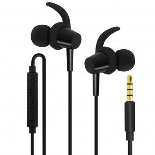 4Sport SP-100 3.5mm Kopfhörer, Magnetische In-Ear Kopfhörer, Forever ? Schwarz