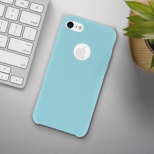 Apple iPhone 7, iPhone 8 stoßfeste Soft Touch Schutzhülle - Türkisblau - Vorschau 3