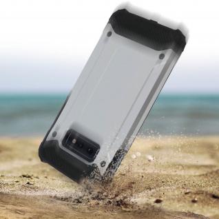 Defender II schockresistente Schutzhülle Samsung Galaxy S10e - Silber - Vorschau 4