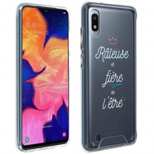 """Handyhülle für Samsung Galaxy A10 / M10, Made in France ? """" Râleuse"""" Design"""