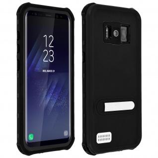 Galaxy S8 wasserfeste Schutzhülle bis zu 6m Tiefe Rundumschutz IP68 - Schwarz