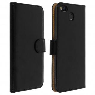 Schwarze Fairphone 3 Klapphülle mit Kartenfächer und Magnetverschluss