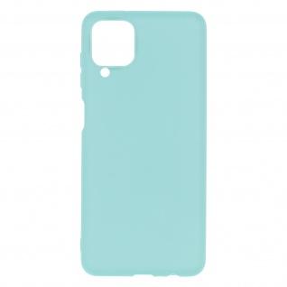 Samsung Galaxy A12 Soft Touch Silikonhülle, soft case ? Türkisblau