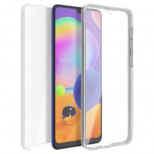 Schutzhülle für Samsung Galaxy A31, Vorder- + Rückseite ? Transparent