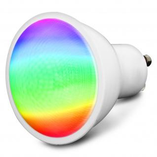 WiFi dimmbare GU10 Smart LED-Glühbirne, kompatibel mit Alexa und Google Home