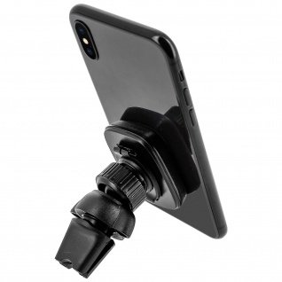 Hoco Smartphone KFZ-Halterung magnetische Lüftungs-Befestigung - Schwarz