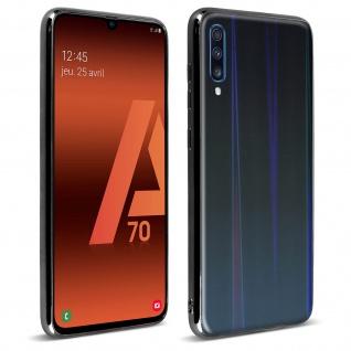Aurora Series holografische Handyhülle Samsung Galaxy A70 - Schwarz