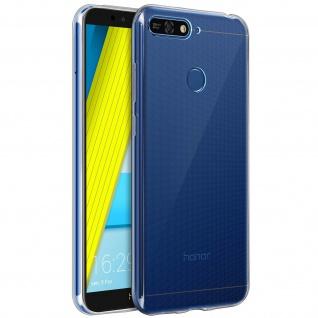 Honor 7A/Huawei Y6 2018 Schutzhülle Silikon ultradünn (0.30mm) ? Transparent