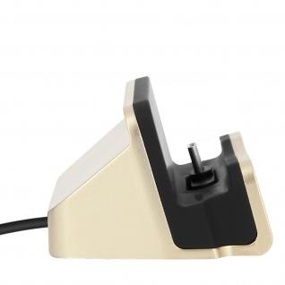 Ladestation mit USB-C Anschluss Aufladen & Synchronisierung - Gold - Vorschau 5