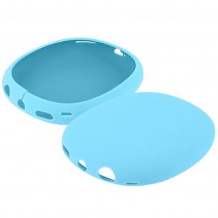 Airpods Max Ultradünne Silikonhülle 1, 5mm, Soft-Touch Oberfläche - Blau