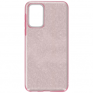 Schutzhülle, Glitter Case für Samsung Galaxy A72, shiny & girly Hülle â€? Rosa