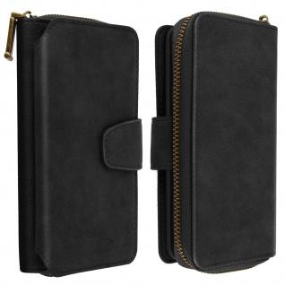 Samsung Galaxy A40 2-in-1 Geldbörse mit Handyhülle â€? Schwarz
