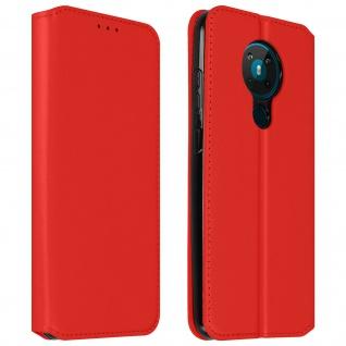 Kunstleder Cover Classic Edition Nokia 5.3 ? Rot