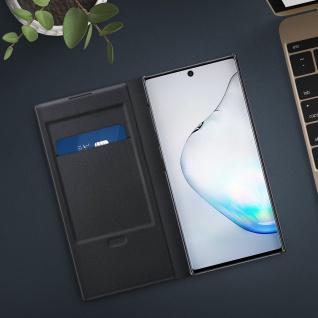 Original Samsung LED-View Cover + Kartenfach Samsung Galaxy Note 10 - Schwarz - Vorschau 4