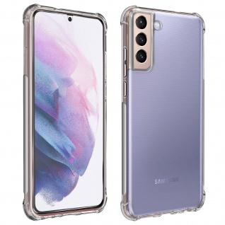 Premium Schutz-Set Samsung Galaxy S21 Schutzhülle + Schutzfolie ? Transparent