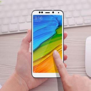 9H kratzfeste bruchsichere Glas-Displayschutzfolie für Xiaomi Redmi 5 - Weiß