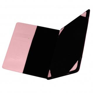 Universal 8 Zoll Tablet Hülle mit Fächern & Standfunktion, Blun - Rosa