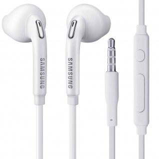 Original Samsung EO-EG920BB in-ear Kopfhörer ? Freisprecheinrichtung ? Weiß