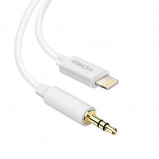 Lightning / 3.5mm männliches Audiokabel 1m, iHower - Weiß