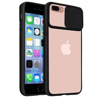 Apple iPhone 7 Plus / 8 Plus Handyhülle mit integriertem Kameraschutz - Schwarz