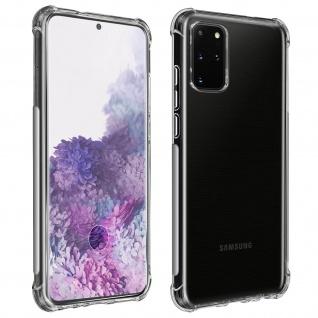 Premium Schutz-Set Galaxy S20 Plus Schutzhülle + Schutzfolie ? Transparent