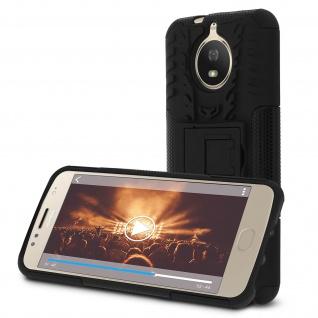 Motorola Moto G5S stoßfeste Schutzhülle - Mit integrierter Standfunktion