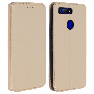 Kunstleder Cover Classic Edition Honor View 20 - Gold