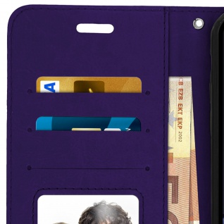 Flip Stand Cover Brieftasche & Standfunktion Apple iPhone XR - Violett 4