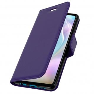 Flip Stand Cover Brieftasche & Standfunktion für Huawei P30 - Violett - Vorschau 2