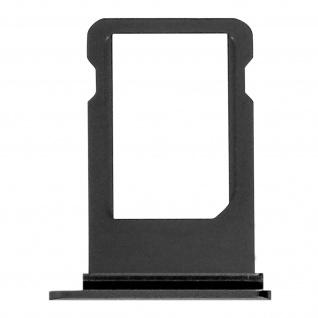 SIM-Ersatz-Kartenhalter für Apple iPhone 8 Plus - Schwarz